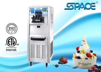 SPACE Commercial Soft Ice Cream Machine With 3 Flavors CE ETL Approved